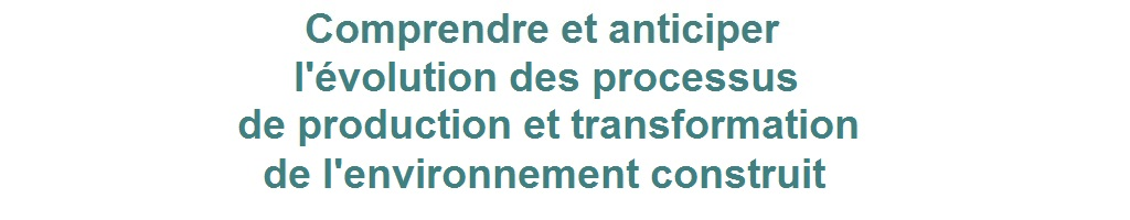 environnement construit